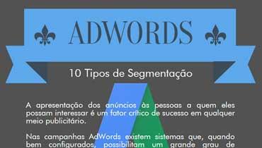 [INFOGRAFIA] AdWords - 10 Tipos de Segmentação
