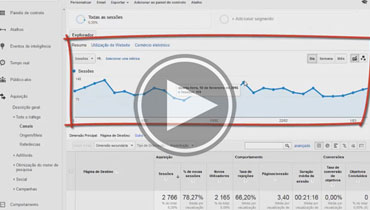 [VÍDEO] Navegar no Google Analytics